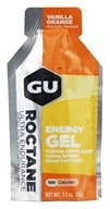 GU Energy - Roctane Ultra Endurance Energy Gel 2x Caffeine Vanilla Orange - 1.1 oz. by GU Energy