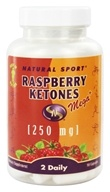 Image of Natural Sport - Raspberry Ketones Mega + 250 mg. - 90 Capsules