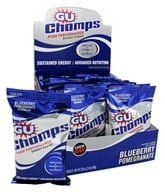 GU Energy - Chomps Pure Performance Energy Chews Blueberry Pomegranate - 2.1 oz. by GU Energy