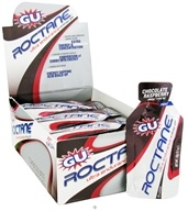 GU Energy - Roctane Ultra Endurance Energy Gel 2x Caffeine Chocolate Raspberry - 1.1 oz. by GU Energy
