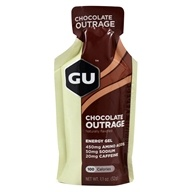 GU Energy - GU Energy Gel 20mg Caffeine Chocolate Outrage - 1.1 oz.