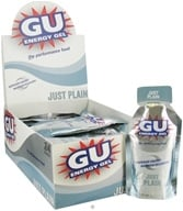 GU Energy - GU Energy Gel with Caffeine Just Plain - 1.1 oz., from category: Sports Nutrition