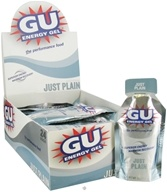 GU Energy - GU Energy Gel with Caffeine Just Plain - 1.1 oz. by GU Energy