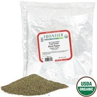 Frontier Natural Products - Black Pepper Fine Grind Organic Fair Trade Certified - 1 lb.