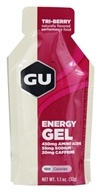 GU Energy - GU Energy Gel with Caffeine Tri-Berry - 1.1 oz.