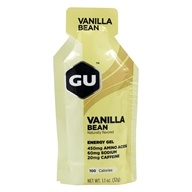 GU Energy - GU Energy Gel 20mg Caffeine Vanilla Bean - 1.1 oz.