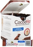 Mars Botanical - CocoaVia Cocoa Extract Beverage Mix Sweetened Dark Chocolate - 30 x 0.27 oz. - Packet(s)