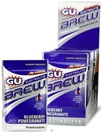 GU Energy - GU Electrolyte Brew Blueberry Pomegranate - 1.2 oz. (769493501158)