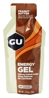 Image of GU Energy - GU Energy Gel No Caffeine Added Peanut Butter - 1.1 oz.