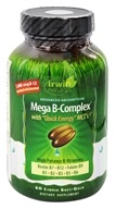 Irwin Naturals - Mega B-Complex with Quick Energy MCTs - 60 Softgels, from category: Vitamins & Minerals