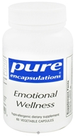 Pure Encapsulations - Emotional Wellness - 60 Vegetarian Capsules by Pure Encapsulations