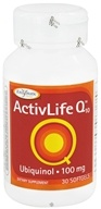 Enzymatic Therapy - ActivLife Q10 Ubiquinol 100 mg. - 30 Softgels by Enzymatic Therapy