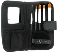 Suki Skincare - Professional Brush Set with Case and Puff -