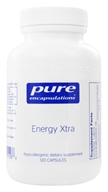 Pure Encapsulations - Energy Xtra - 120 Capsules - $36.10