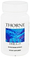 Thorne Research - DHEA 25 mg. - 90 Vegetarian Capsules - $18.55