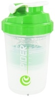 Spider Bottle - SpiderMix Mini2Go Shaker Bottle Clear Green - 25 oz.