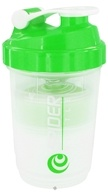 Spider Bottle - SpiderMix Maxi2Go Shaker Bottle Clear Green - 30 oz., from category: Sports Nutrition