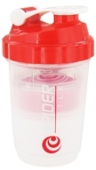 Spider Bottle - SpiderMix Maxi2Go Shaker Bottle Clear Red - 30 oz., from category: Sports Nutrition