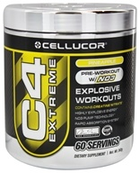 Cellucor - C4 Extreme Pre-Workout with NO3 Pineapple 60 Servings - 342 Grams (632964301161)
