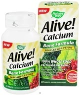 Image of Nature's Way - Alive Calcium Bone Formula Max Absorption - 60 Tablets