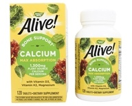 Nature's Way - Alive Calcium Bone Formula Max Absorption - 120 Tablets (033674158395)