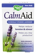 Nature's Way - Calm Aid 80 mg. - 30 Softgels, from category: Aromatherapy