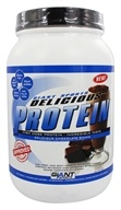 Giant Sports Products - Delicious Protein Powder Chocolate Shake - 2 lbs. by Giant Sports Products