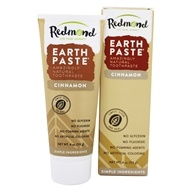 Redmond Trading - Earthpaste Amazingly Natural Toothpaste Cinnamon - 4 oz. by Redmond Trading