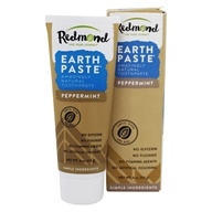 Redmond Trading - Earthpaste Amazingly Natural Toothpaste Peppermint - 4 oz. by Redmond Trading