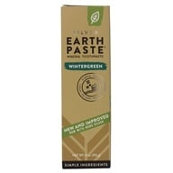 Image of Redmond Trading - Earthpaste Amazingly Natural Toothpaste Wintergreen - 4 oz.
