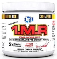 BPI Sports - 1 M.R Ultra Concentrated Pre-Workout Powder - 28 Servings Fruit Punch - 170 Grams (851780003763)