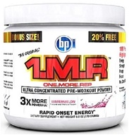 BPI Sports - 1 M.R Ultra Concentrated Pre-Workout Powder - 28 Servings Watermelon - 170 Grams by BPI Sports