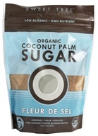 Sweet Tree - Organic Coconut Palm Sugar Fleur De Sel - 14 oz. - $5.69