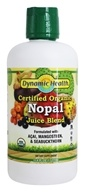Image of Dynamic Health - Nopal Juice Blend Superfruit Antioxidant Supplement Organic Certified - 33.8 oz.