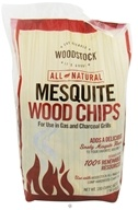 Woodstock Farms - All-Natural Mesquite Wood Chips - 2.94 Liter(s) CLEARANCE PRICED