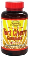 Image of Dynamic Health - Tart Cherry Complete with CherryPURE Anti-Inflammatory Formula - 60 Vegetarian Capsules