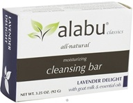 Image of Alabu - Moisturizing Goat's Milk Cleansing Bar Lavender Delight - 3.25 oz. CLEARANCE PRICED