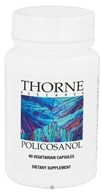 Thorne Research - Policosanol - 60 Vegetarian Capsules - $12.60