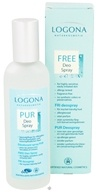 Logona - Deodorant Spray Fragrance Free - 3.4 oz., from category: Personal Care
