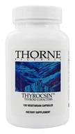 Thorne Research - Thyrocsin - 120 Vegetarian Capsules (693749784012)