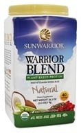 Sun Warrior - Warrior Blend Raw Protein Natural - 35.2 oz.
