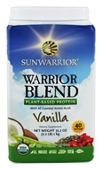 Sunwarrior - Warrior Blend Plant-Based Protein Vanilla - 35.2 oz.