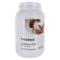MediClear-SGS Powder Chocolate - 37.9 oz. by Thorne Research