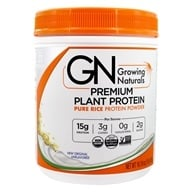 Growing Naturals - Organic Rice Protein Original - 16.2 oz.