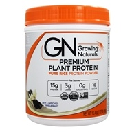 Growing Naturals - Organic Rice Protein Vanilla Blast - 16.4 oz. by Growing Naturals