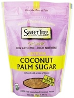 Sweet Tree - Organic Coconut Palm Sugar + Stevia - 14 oz.