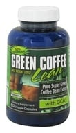 Gold Star Nutrition - Green Coffee Bean Double Strength with GCA 800 mg. - 60 Vegetarian Capsules - $22.99