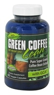 Gold Star Nutrition - Green Coffee Bean Double Strength with GCA 800 mg. - 60 Vegetarian Capsules (750970300623)