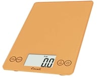 Escali - Arti Glass Digital Food Scale 157CN Cinnamon by Escali
