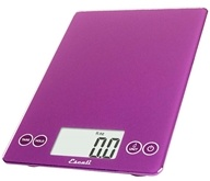 Escali - Arti Glass Digital Food Scale 157DP Deep Purple